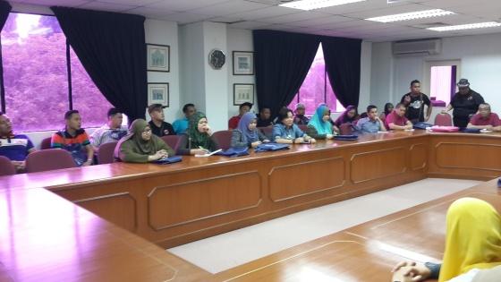 A working visit from Pustaka Miri, Sarawak pic 1
